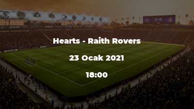 Hearts - Raith Rovers